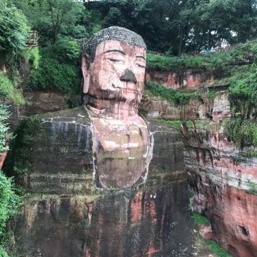 Big Buddah Leshan, Sichuan
